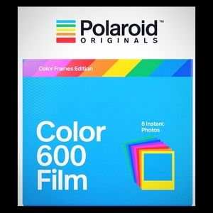 Polaroid Color 600 Film: Color Frames